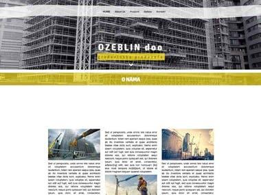 Ozeblin (Construction company website)