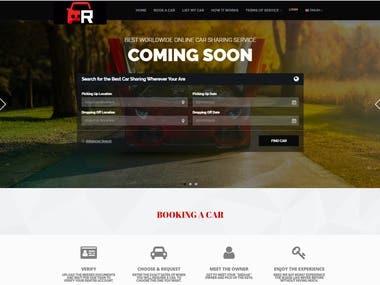 Car rental site