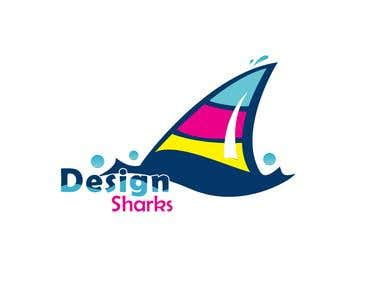 Logo for Design Sharks
