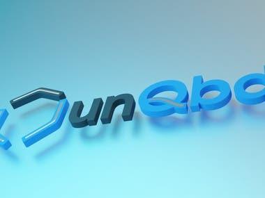 3d logo unQbd