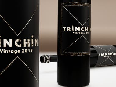 Wine Label Trinchini