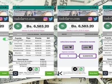 Tudolarve ( App Oficial del Dolar Paralelo)