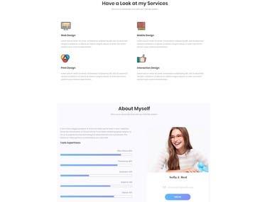 Personal Profile - Design & Develop