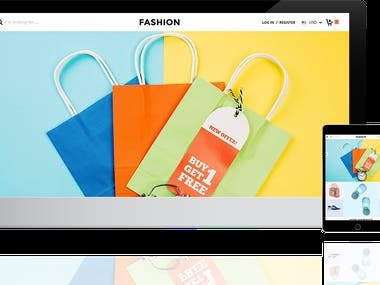 FASHION SHOP -Shopify template