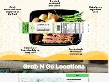 Green Heart Meals - Restaurant Shop