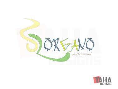 ORGANO Restaurant Logo Design