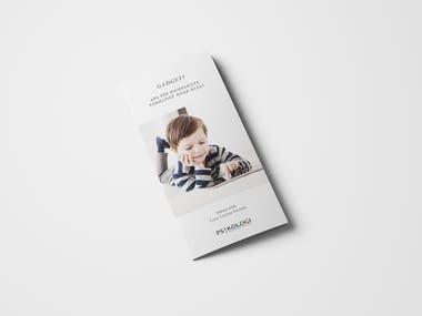 Brochure Design for Psychology Student