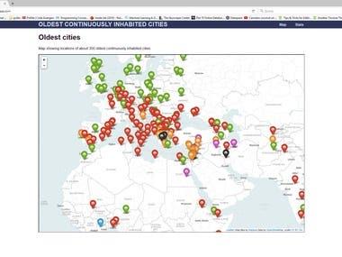 Python - web scraping and data visualization