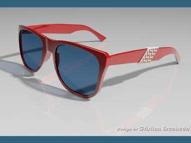 Sunglasses Design in two different models
