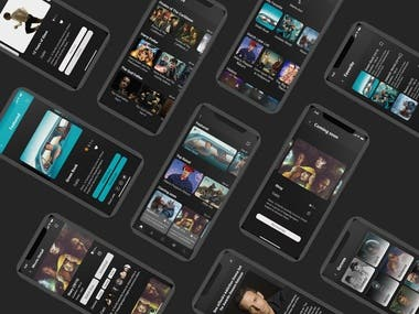 Movies Any Where ( UX/UI Design for iOS )