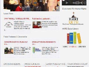 Website Sample 3