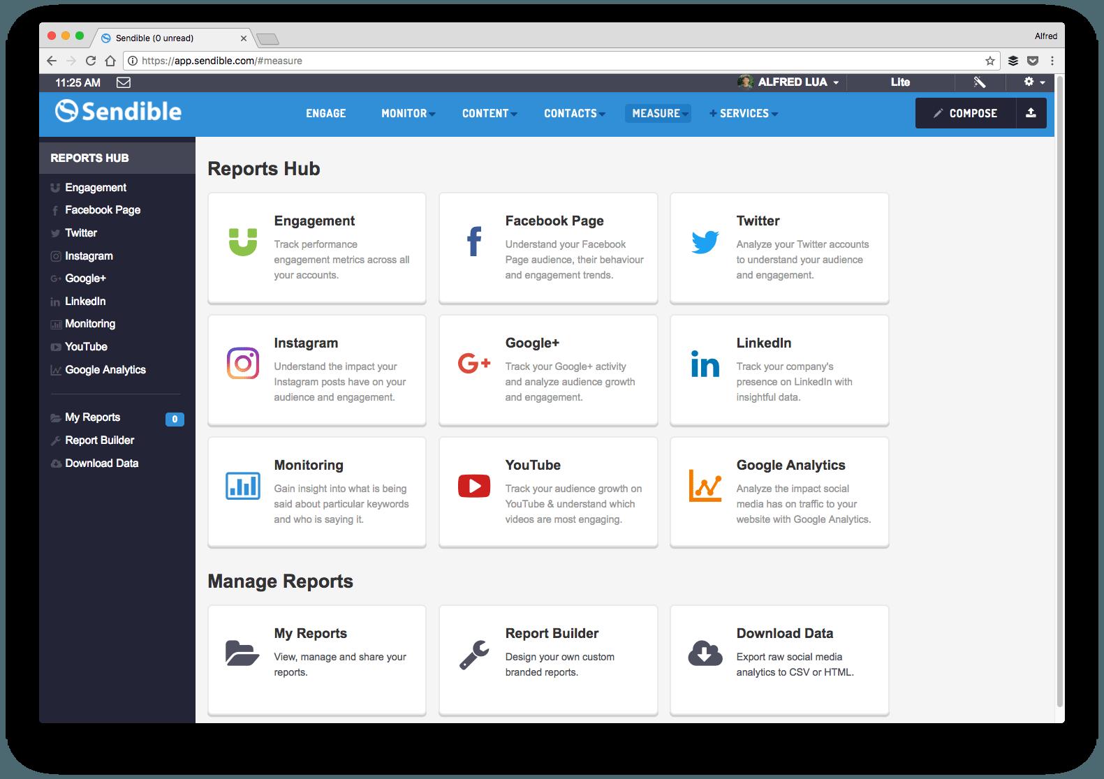 Manage my Social media accounts, generate sales