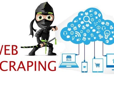 Data mining, web scraping from web directory