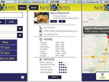 Restaurant application
