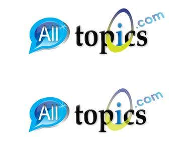 Logo proposition for All Topics