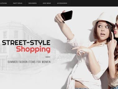 Fashion & Clothing Online Shop