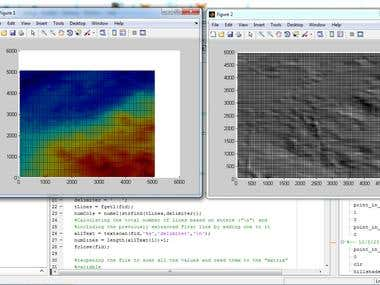 Hillshade calculation of terrain in Matlab