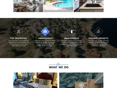 Website Design and Development - Dwell