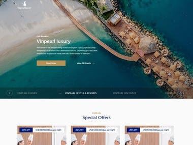 VinPearl -Website Development and Design