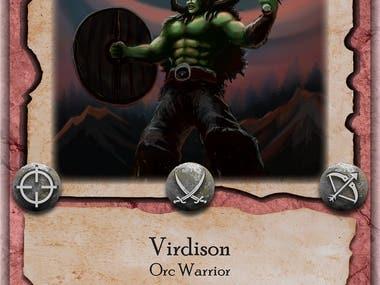 Board Game Card Designs