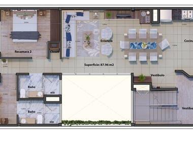Furtniture plans 2D contest