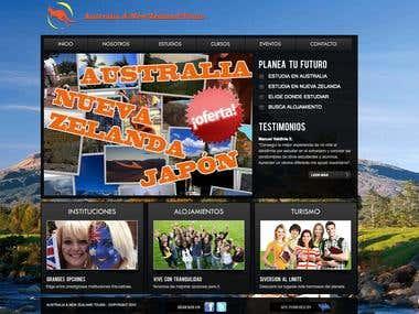 Australia Tours Peru - Website