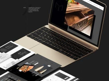 Responsive Website Frontend Development