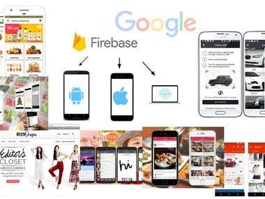 Laravel, Firebase Backend