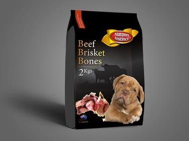 Pet Food Packaging Design - 2 Kg bag