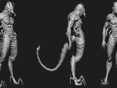 Character Modeling_Zbrush