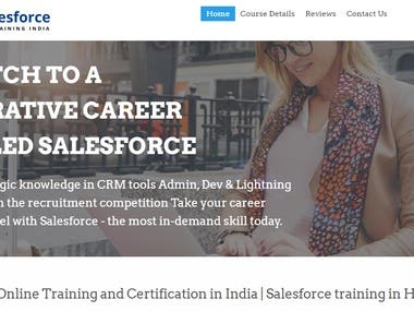 Sales Force Training India