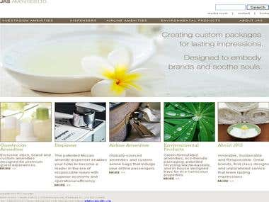 Cosmetic Products Ecommerce Website