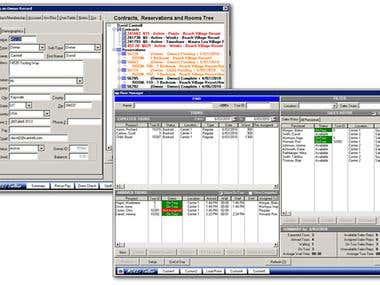 Prototype Resort Management System