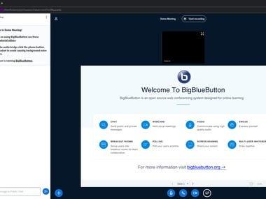 BigBlueButton installation + LMS Integration
