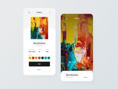 Art Marketplace App