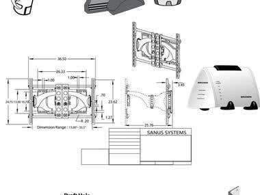 Schemetric / engineering designs