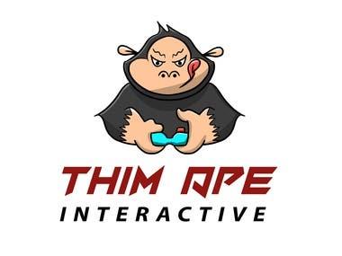Ape logo (original character)