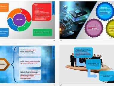 PowerPoint Resume