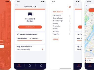 Dryve App - A New Way to Rent a Car.
