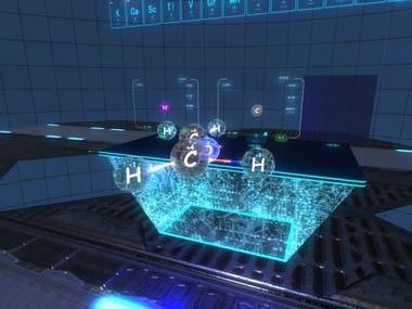 Wonderful exploration of VR chemistry