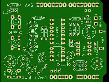 Previews for my designed PCBs