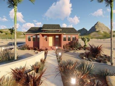 Garden Design- Texas US