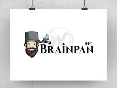 Brainpan Logo Design