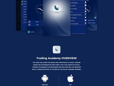 Trading Academy - Education App