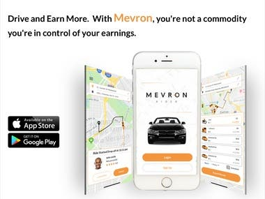 MEVRON Taxi App With All New Ride-sharing Feature