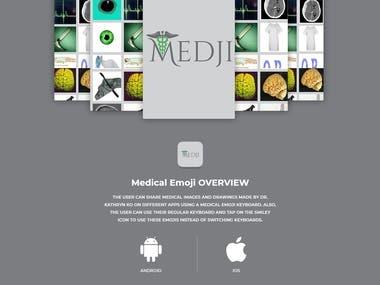 Medical Emoji - Social App