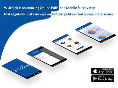 WU Think is an Amazing Online survey & poll Appllication