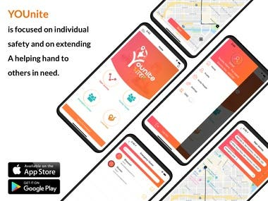 YOUnite Bharat (Safety app)