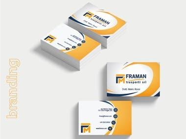 Framan srl Website and Branding Design