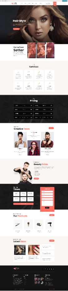Hirestyle advertisement - Shopify online store